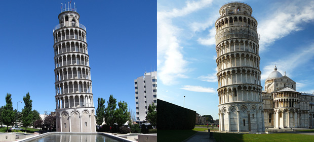 Real or Replica? 12 Carbon Copies of World-Famous Landmarks. Photo by kenlund and yujin_it