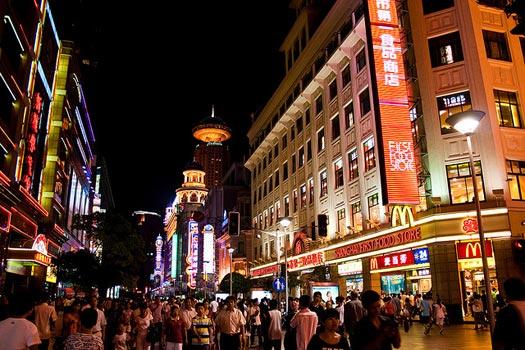 Shanghai Experiences: Shopping Nanjing Road, Shanghai. Photo by Tom Thai