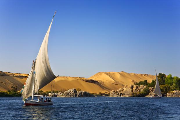 Felucca Nile cruise