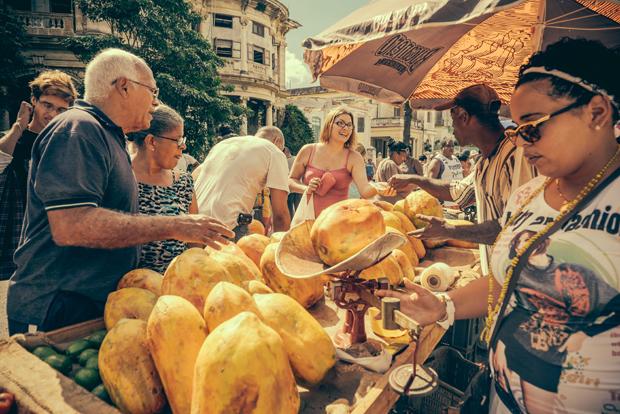 Havana street food