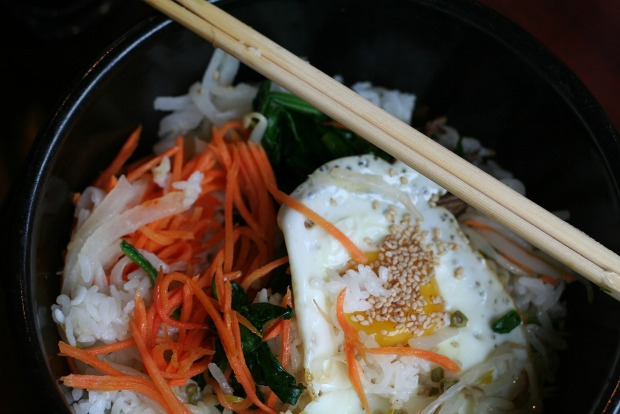 Korean bimbimbap